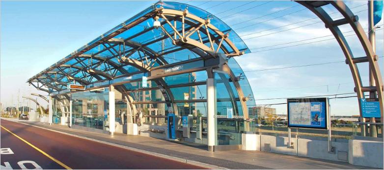 rapid transit shelter